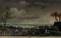 le port d'antibes (+ toulon, vue de la ville et de la rade; 2 works after joseph vernet) by juan patricio morlet[te] ruiz